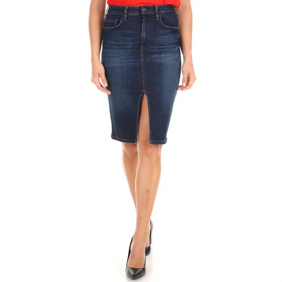 GUESS - Γυναικεία τζιν φούστα GUESS IT GIRL μπλε