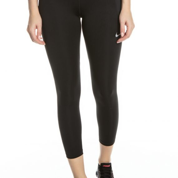 NIKE - Γυναικείο κολάν για τρέξιμο Nike Fast Crop μαύρο