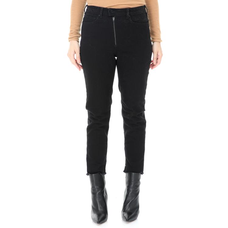 SCOTCH & SODA - Γυναικείο cropped jean παντελόνι SCOTCH & SODA High Five Liar's Loo μαύρο