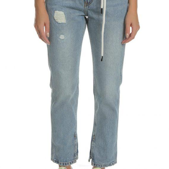 SCOTCH & SODA - Γυναικείο τζιν παντελόνι SCOTCH & SODA μπλε