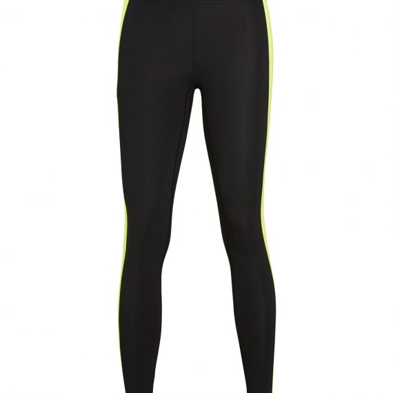 BJORN BORG - Γυναικείο αθλητικό κολάν BJORN BORG μαύρο κίτρινο