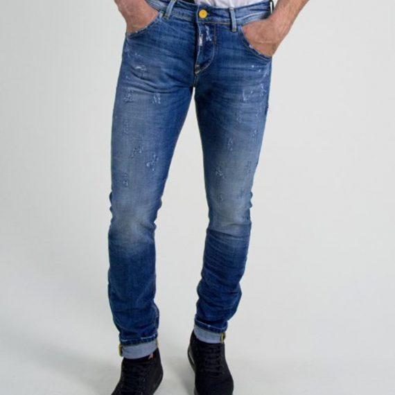 Ανδρικό τζιν παντελόνι μπλέ Cosi 51LANDON2