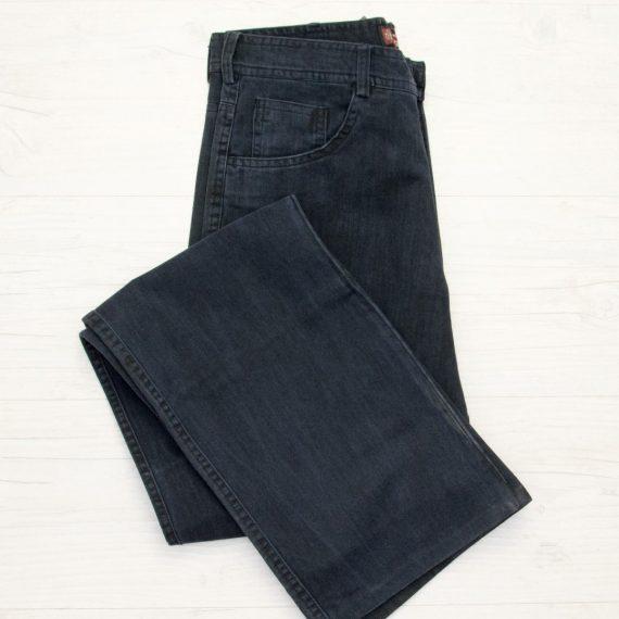 Ανδρικό μπλε σκούρο υφασμάτινο παντελόνι 83205