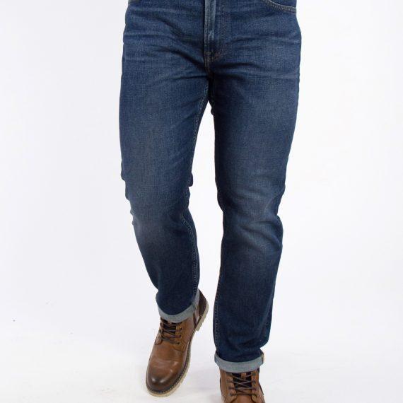 Ανδρικό μπλε τζιν παντελόνι με ξέβαμμα Lee Rider L75GDIHX