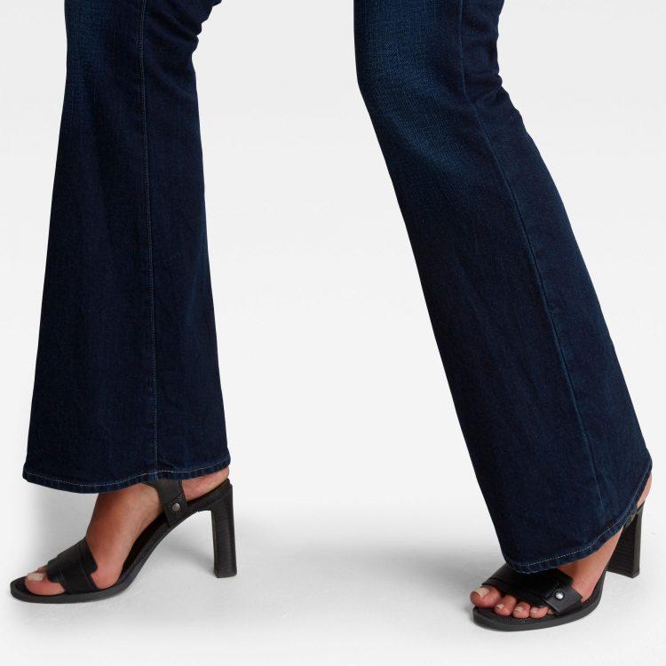 Γυναικείο παντελόνι G-Star 3301 Flare Jeans | Αυθεντικό 4