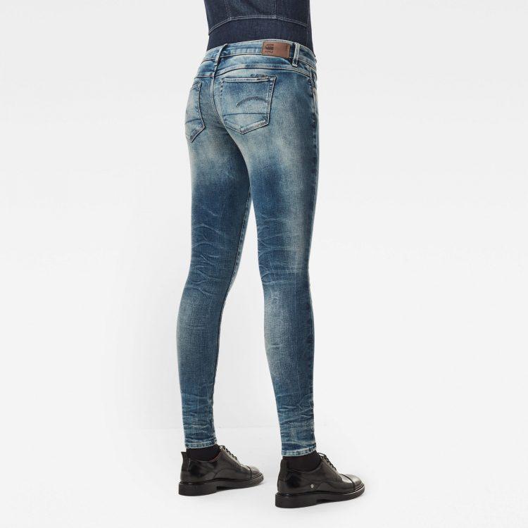Γυναικείο παντελόνι G-Star 3301 Low Skinny Jeans   Αυθεντικό 1