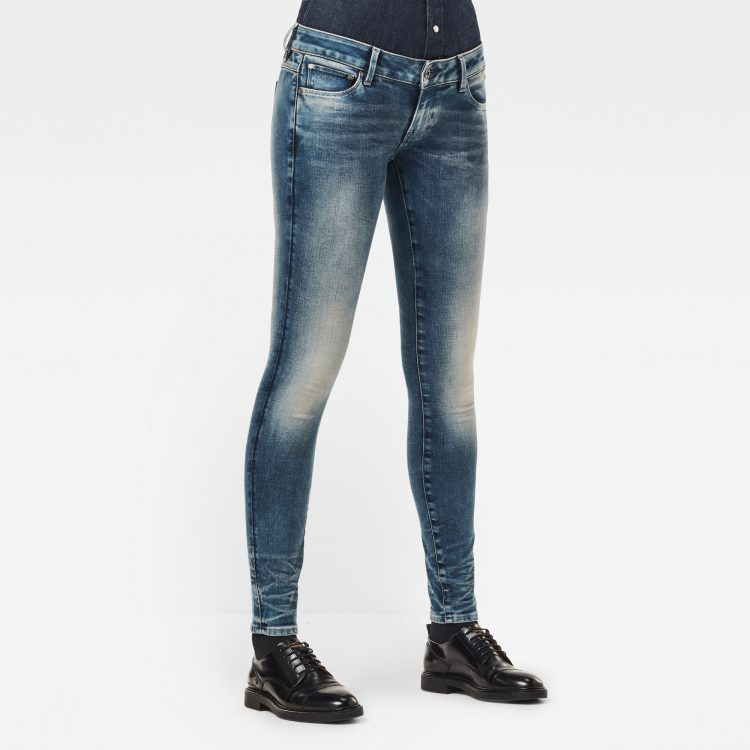 Ανδρικό παντελόνι G-Star 3301 Low Skinny Jeans Αυθεντικό