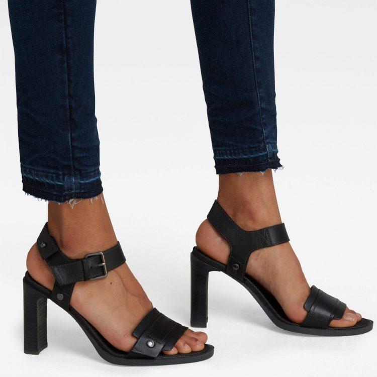 Γυναικείο παντελόνι G-Star 3301 Mid Skinny Ankle Jeans | Αυθεντικό 4