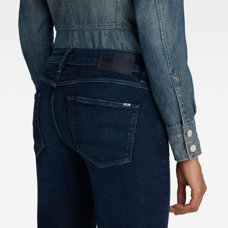 Γυναικείο παντελόνι G-Star 3301 Mid Skinny Ankle Jeans | Αυθεντικό 2