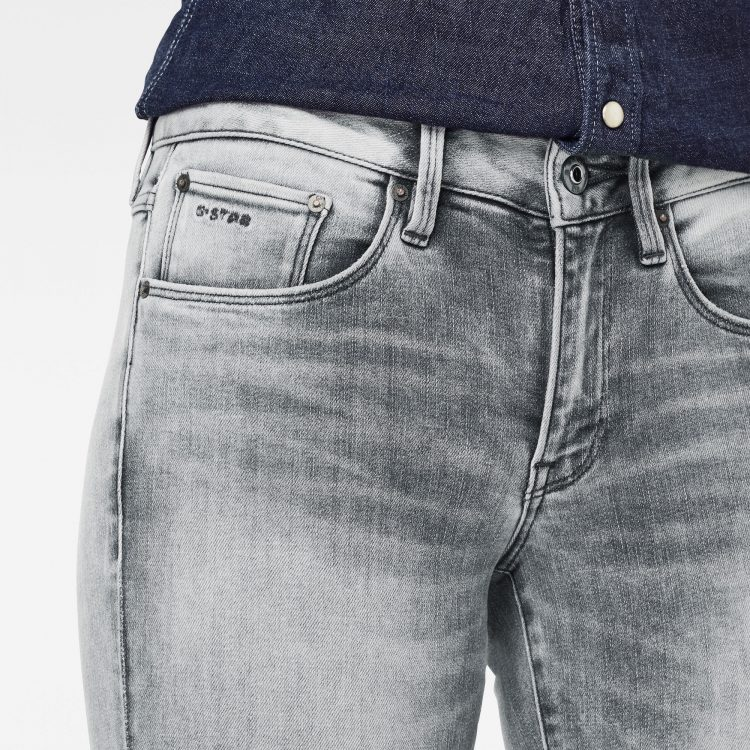 Γυναικείο παντελόνι G-Star 3301 Mid Skinny Ripped Edge Ankle Jeans | Αυθεντικό 4