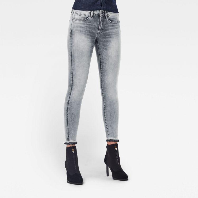 Ανδρικό παντελόνι G-Star 3301 Mid Skinny Ripped Edge Ankle Jeans Αυθεντικό