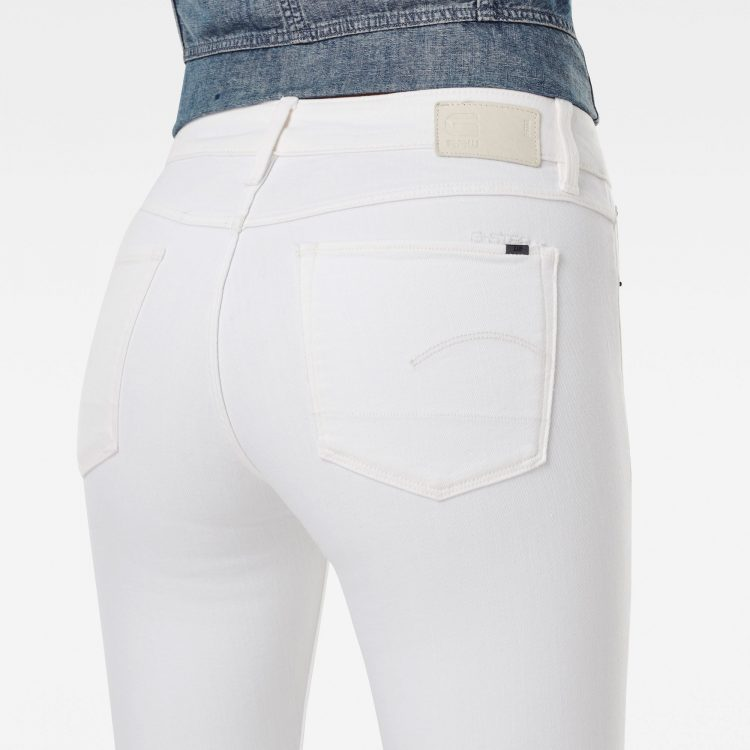 Γυναικείο παντελόνι G-Star 3301 Mid Skinny Ripped Edge Ankle Jeans | Αυθεντικό 2