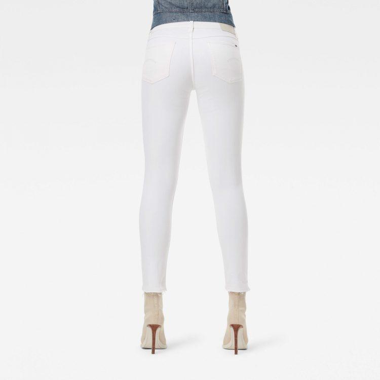 Γυναικείο παντελόνι G-Star 3301 Mid Skinny Ripped Edge Ankle Jeans | Αυθεντικό 1