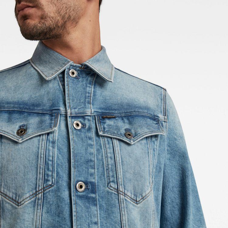 Ανδρικό G-Star 3301 Slim Jacket | Αυθεντικό 4