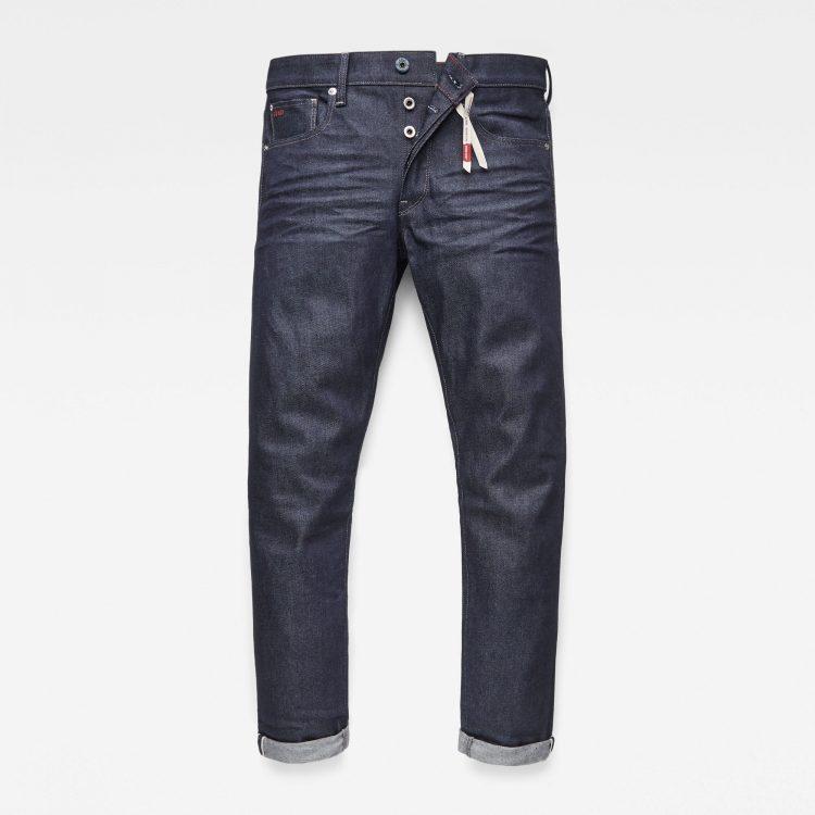 Ανδρικό παντελόνι G-Star 3301 Slim Selvedge Jeans | Αυθεντικό 3