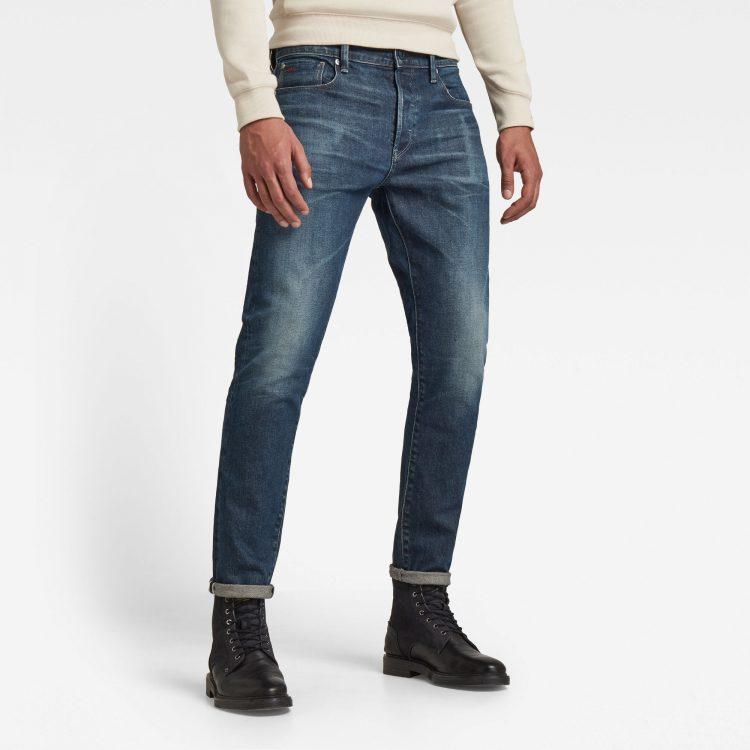 Ανδρικό παντελόνι G-Star 3301 Slim Selvedge Jeans Αυθεντικό