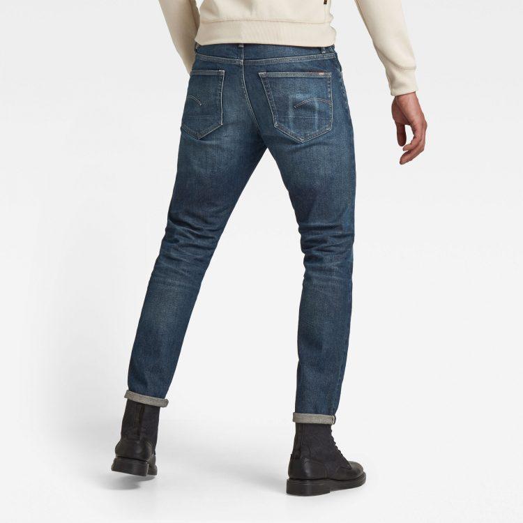 Ανδρικό παντελόνι G-Star 3301 Slim Selvedge Jeans | Αυθεντικό 1