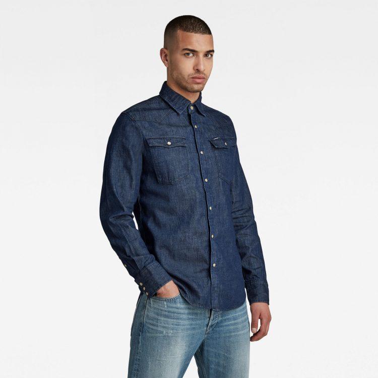 Ανδρικό Πουκάμισο G-Star 3301 Slim Shirt   Αυθεντικό 1