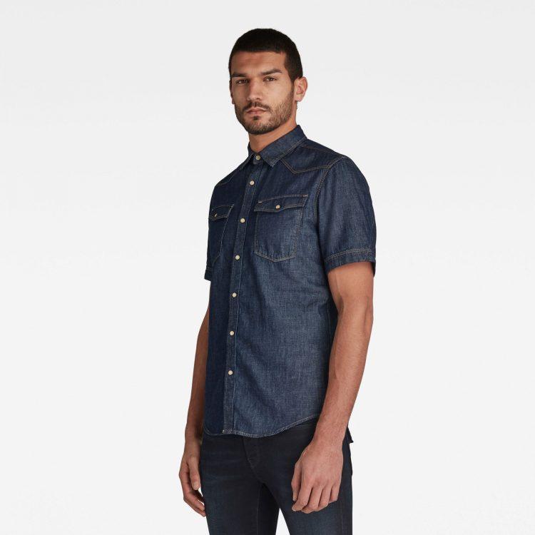 Ανδρικό Πουκάμισο G-Star 3301 Slim Shirt | Αυθεντικό 1
