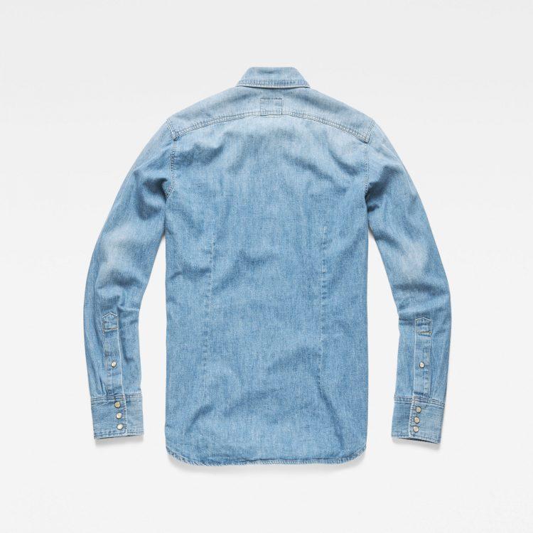 Ανδρικό Πουκάμισο G-Star 3301 Slim Shirt | Αυθεντικό 4