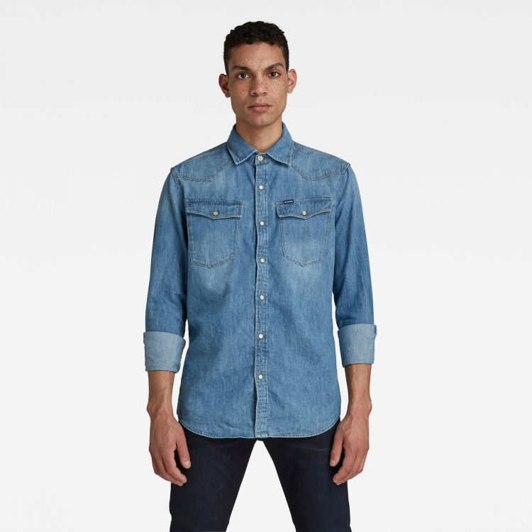 Ανδρικό παντελόνι G-Star 3301 Slim Shirt Αυθεντικό