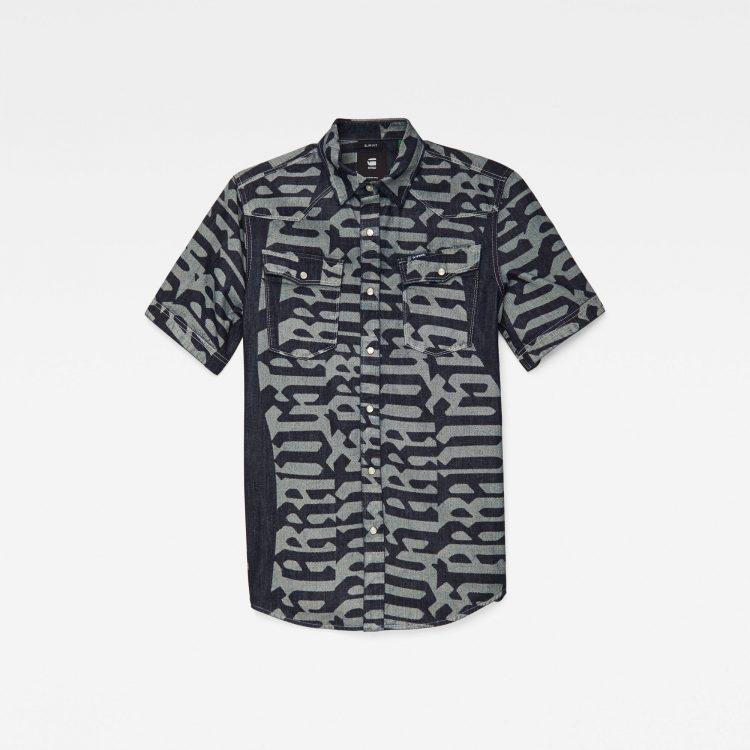 Ανδρικό Πουκάμισο G-Star 3301 Slim Shirt | Αυθεντικό 3