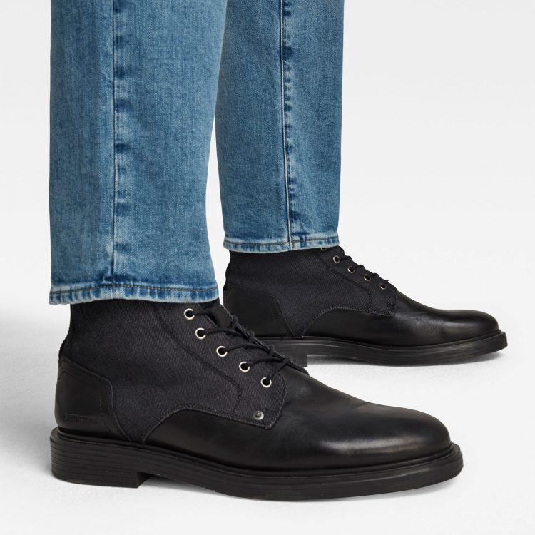 Ανδρικό παντελόνι G-Star 3301 Straight Tapered Jeans   Αυθεντικό 4