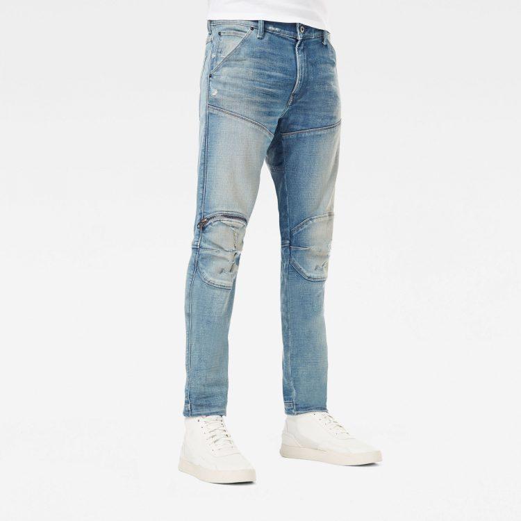 Ανδρικό παντελόνι G-Star 5620 3D Zip Knee Skinny Jeans Αυθεντικό