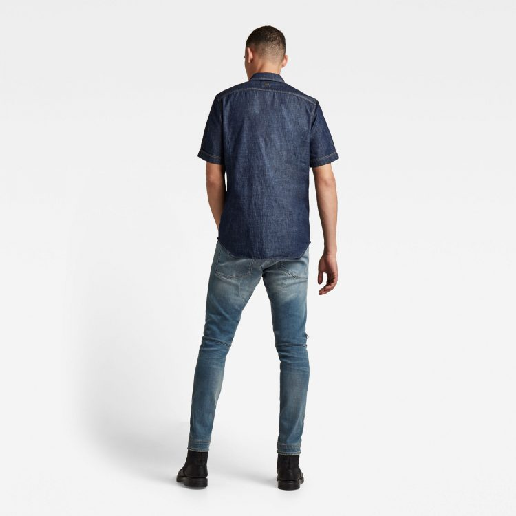 Ανδρικό παντελόνι G-Star 5620 3D Zip Knee Skinny Jeans   Αυθεντικό 2