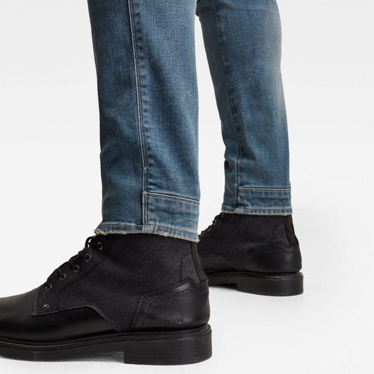 Ανδρικό παντελόνι G-Star 5620 3D Zip Knee Skinny Jeans   Αυθεντικό 4