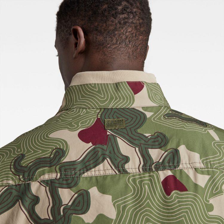 Ανδρικό G-Star Army Artwork Indoor Jacket | Αυθεντικό 4
