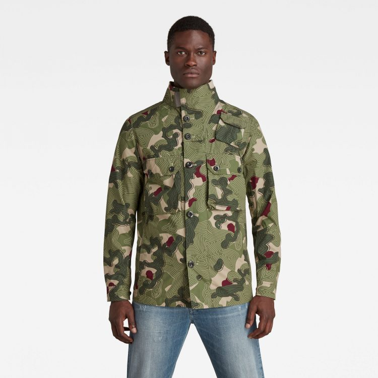 Ανδρικό παντελόνι G-Star Army Artwork Indoor Jacket Αυθεντικό