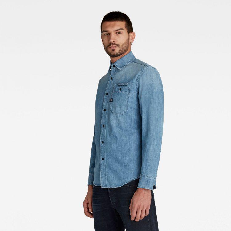 Ανδρικό Πουκάμισο G-Star Bristum Slim Shirt | Αυθεντικό 1