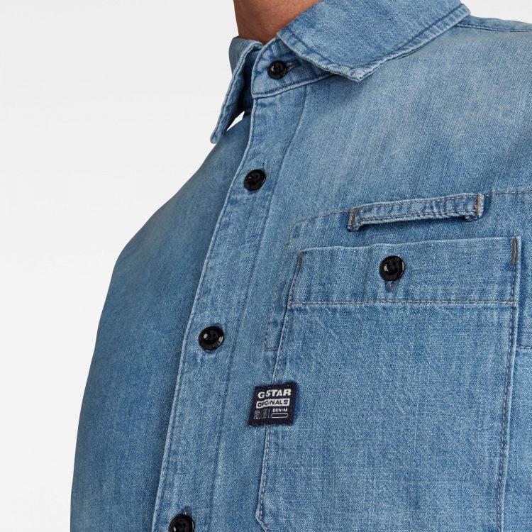Ανδρικό Πουκάμισο G-Star Bristum Slim Shirt | Αυθεντικό 4