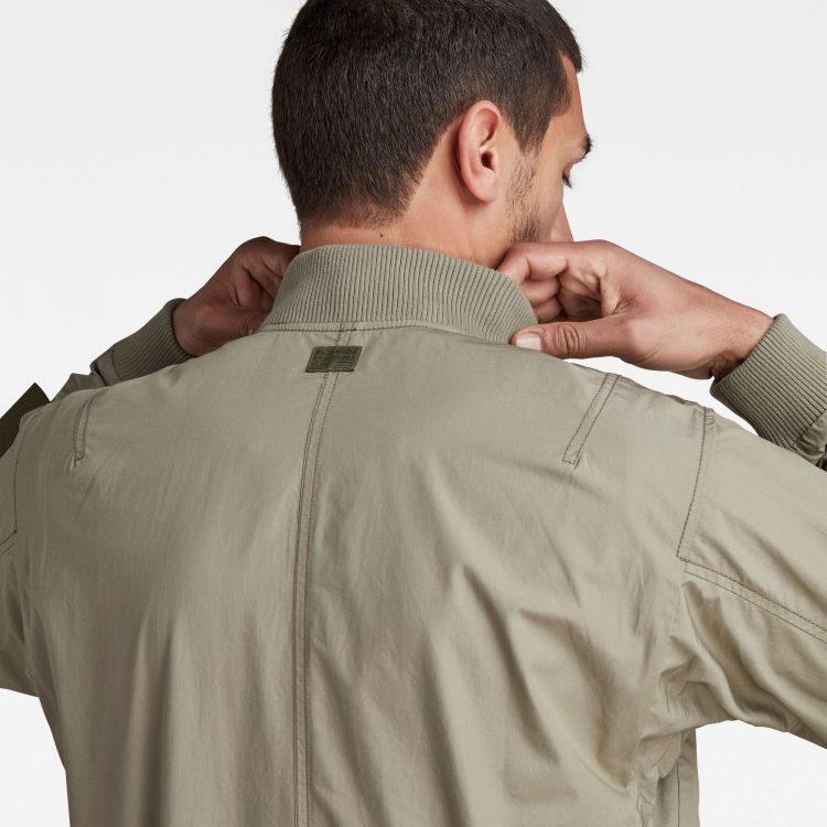 Ανδρικό G-Star Chest Pockets Poplin Bomber Jacket | Αυθεντικό 4