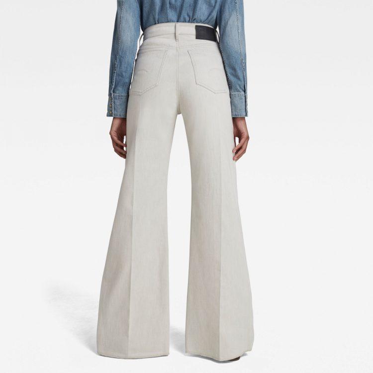 Γυναικείο παντελόνι G-Star Deck Ultra High Wide Leg Jeans   Αυθεντικό 1