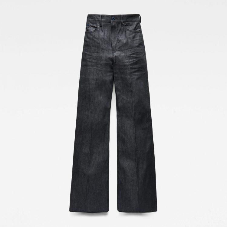 Γυναικείο παντελόνι G-Star Deck Ultra High Wide Leg Jeans   Αυθεντικό 3