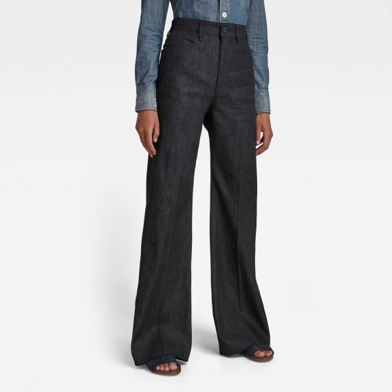 Ανδρικό παντελόνι G-Star Deck Ultra High Wide Leg Jeans Αυθεντικό