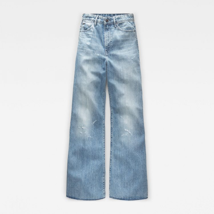 Γυναικείο παντελόνι G-Star Deck Ultra High Wide Leg Jeans | Αυθεντικό 3