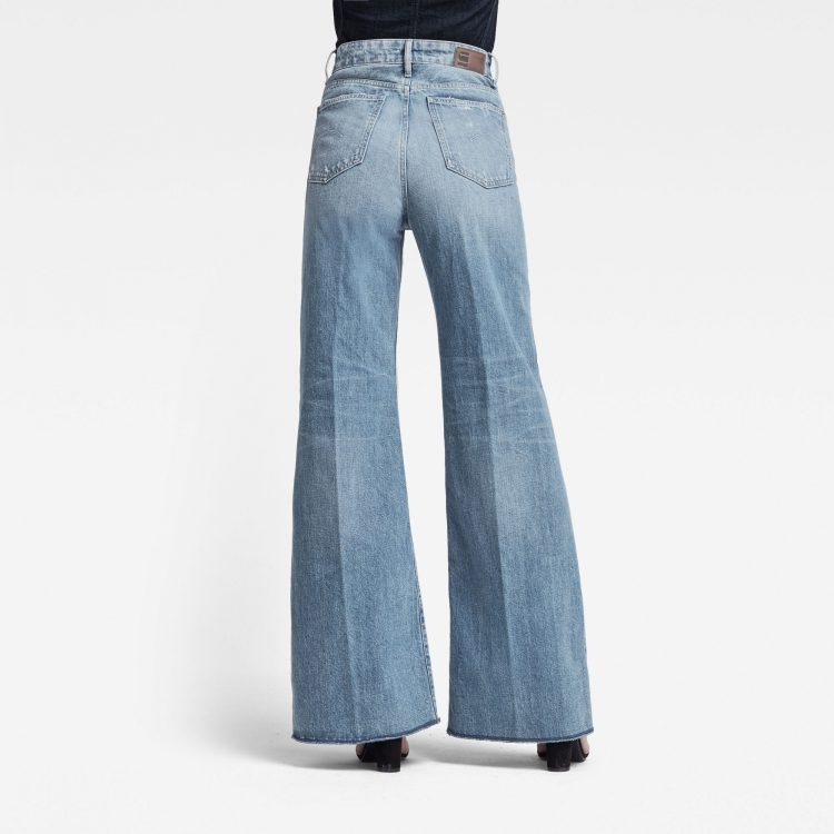 Γυναικείο παντελόνι G-Star Deck Ultra High Wide Leg Jeans | Αυθεντικό 1