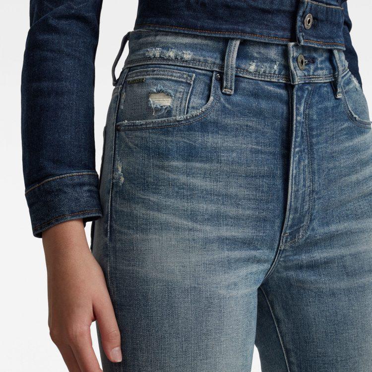 Γυναικείο παντελόνι G-Star Kafey Ultra High Skinny Ripped Edge Ankle Jeans | Αυθεντικό 5