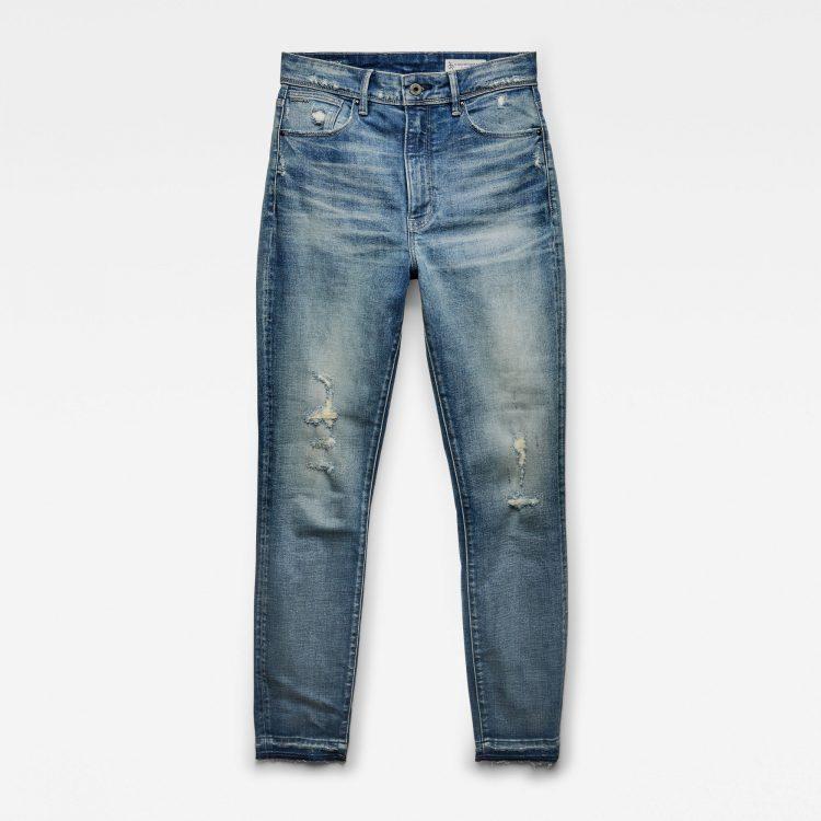 Γυναικείο παντελόνι G-Star Kafey Ultra High Skinny Ripped Edge Ankle Jeans | Αυθεντικό 3
