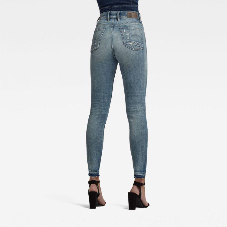 Γυναικείο παντελόνι G-Star Kafey Ultra High Skinny Ripped Edge Ankle Jeans | Αυθεντικό 1