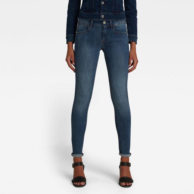Ανδρικό παντελόνι G-Star Lynn D-Mid Waist Super Skinny Jeans Αυθεντικό