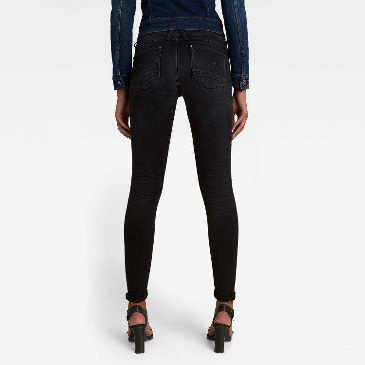 Γυναικείο παντελόνι G-Star Lynn Mid Super Skinny Jeans   Αυθεντικό 1