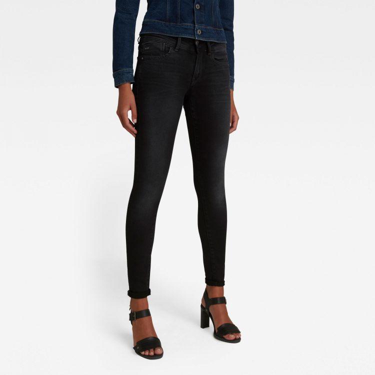 Ανδρικό παντελόνι G-Star Lynn Mid Super Skinny Jeans Αυθεντικό