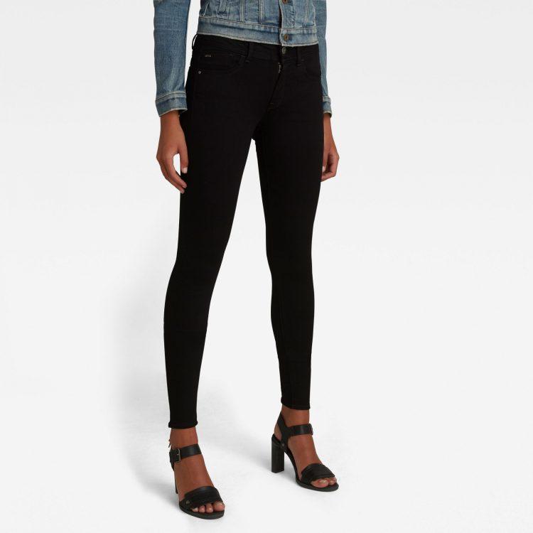 Ανδρικό παντελόνι G-Star Lynn Mid Super SkinnyJeans Αυθεντικό