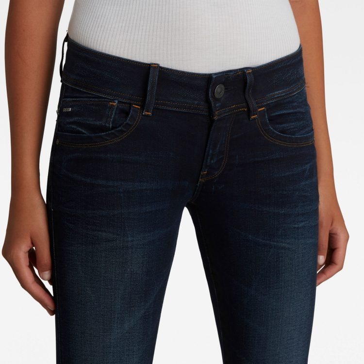 Γυναικείο παντελόνι G-Star Lynn Mid Waist Skinny Jeans | Αυθεντικό 4