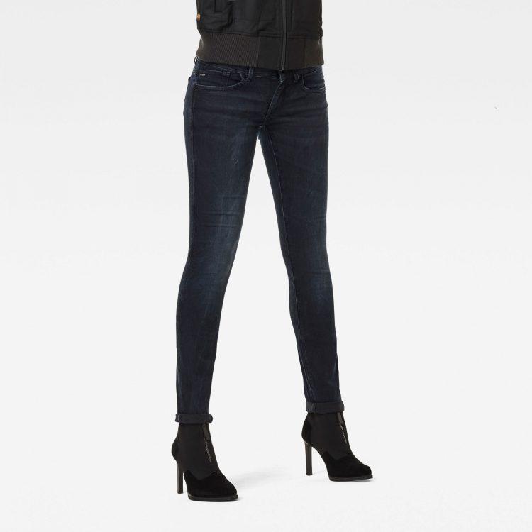 Ανδρικό παντελόνι G-Star Lynn Mid Waist Skinny Jeans Αυθεντικό