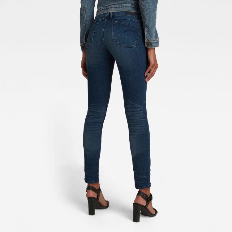 Γυναικείο παντελόνι G-Star Lynn Mid Waist Skinny Jeans   Αυθεντικό 1